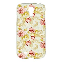 Background Pattern Flower Spring Samsung Galaxy S4 I9500/i9505 Hardshell Case by Celenk