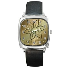 You Are My Star Square Metal Watch by NSGLOBALDESIGNS2