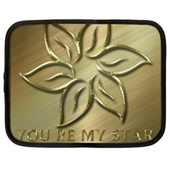You Are My Star Netbook Case (xl) by NSGLOBALDESIGNS2