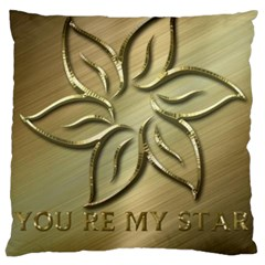 You Are My Star Large Cushion Case (one Side)