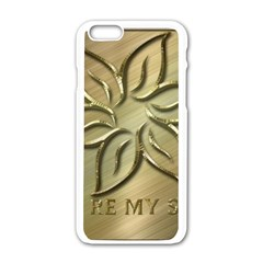 You Are My Star Apple Iphone 6/6s White Enamel Case by NSGLOBALDESIGNS2