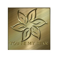 You Are My Star Small Satin Scarf (square) by NSGLOBALDESIGNS2