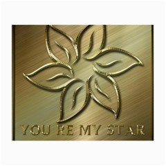You Are My Star Small Glasses Cloth (2-side) by NSGLOBALDESIGNS2