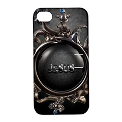 Jesus Apple Iphone 4/4s Hardshell Case With Stand by NSGLOBALDESIGNS2