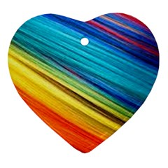 Rainbow Ornament (heart) by NSGLOBALDESIGNS2