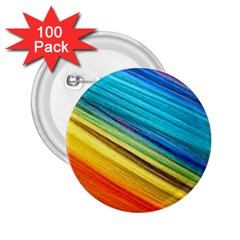 Rainbow 2 25  Buttons (100 Pack)  by NSGLOBALDESIGNS2