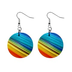 Rainbow Mini Button Earrings by NSGLOBALDESIGNS2