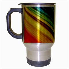 Rainbow Travel Mug (silver Gray) by NSGLOBALDESIGNS2