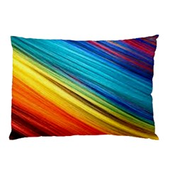 Rainbow Pillow Case by NSGLOBALDESIGNS2