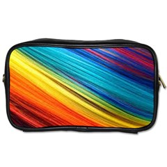 Rainbow Toiletries Bag (one Side) by NSGLOBALDESIGNS2