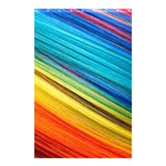 Rainbow Shower Curtain 48  X 72  (small)  by NSGLOBALDESIGNS2