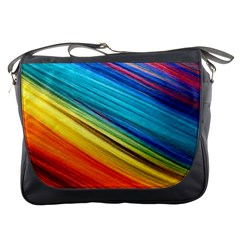 Rainbow Messenger Bag by NSGLOBALDESIGNS2