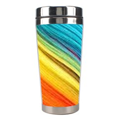 Rainbow Stainless Steel Travel Tumblers by NSGLOBALDESIGNS2