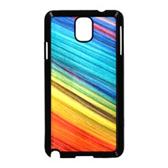 Rainbow Samsung Galaxy Note 3 Neo Hardshell Case (black) by NSGLOBALDESIGNS2