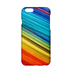 Rainbow Apple Iphone 6/6s Hardshell Case by NSGLOBALDESIGNS2