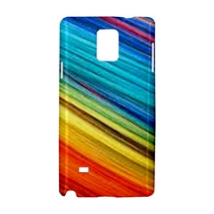 Rainbow Samsung Galaxy Note 4 Hardshell Case by NSGLOBALDESIGNS2