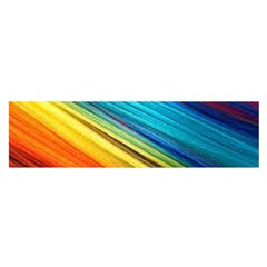 Rainbow Satin Scarf (oblong) by NSGLOBALDESIGNS2