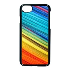 Rainbow Apple Iphone 7 Seamless Case (black) by NSGLOBALDESIGNS2