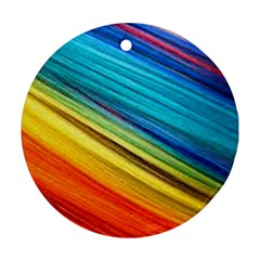 Rainbow Ornament (round) by NSGLOBALDESIGNS2
