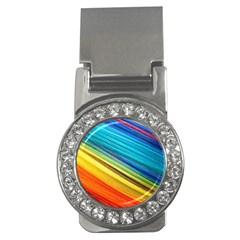 Rainbow Money Clips (cz)  by NSGLOBALDESIGNS2