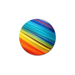 Rainbow Golf Ball Marker (10 Pack) by NSGLOBALDESIGNS2