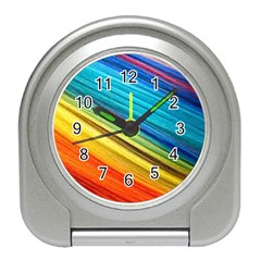 Rainbow Travel Alarm Clock by NSGLOBALDESIGNS2