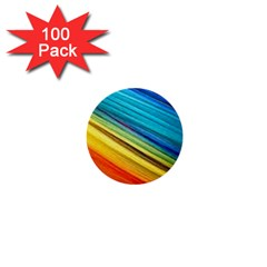 Rainbow 1  Mini Buttons (100 Pack)  by NSGLOBALDESIGNS2