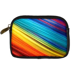 Rainbow Digital Camera Leather Case by NSGLOBALDESIGNS2