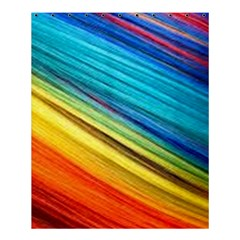 Rainbow Shower Curtain 60  X 72  (medium)  by NSGLOBALDESIGNS2