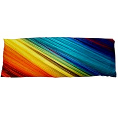 Rainbow Body Pillow Case (dakimakura) by NSGLOBALDESIGNS2