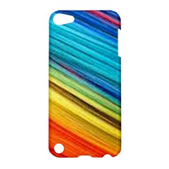 Rainbow Apple Ipod Touch 5 Hardshell Case by NSGLOBALDESIGNS2
