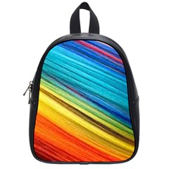 Rainbow School Bag (small) by NSGLOBALDESIGNS2