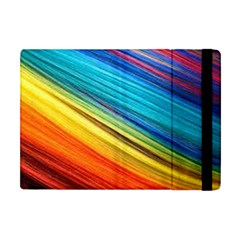 Rainbow Apple Ipad Mini Flip Case by NSGLOBALDESIGNS2