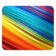 Rainbow Double Sided Flano Blanket (small)  by NSGLOBALDESIGNS2