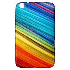 Rainbow Samsung Galaxy Tab 3 (8 ) T3100 Hardshell Case  by NSGLOBALDESIGNS2