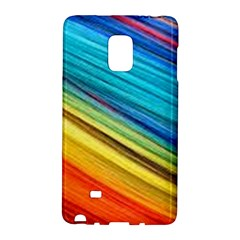 Rainbow Samsung Galaxy Note Edge Hardshell Case by NSGLOBALDESIGNS2