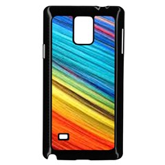 Rainbow Samsung Galaxy Note 4 Case (black) by NSGLOBALDESIGNS2