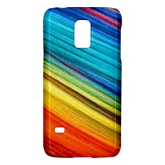 Rainbow Samsung Galaxy S5 Mini Hardshell Case  by NSGLOBALDESIGNS2
