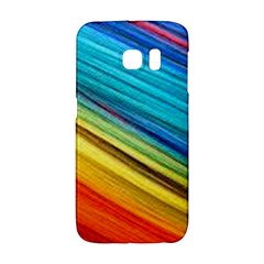 Rainbow Samsung Galaxy S6 Edge Hardshell Case by NSGLOBALDESIGNS2