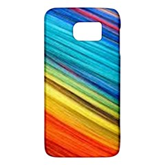 Rainbow Samsung Galaxy S6 Hardshell Case  by NSGLOBALDESIGNS2