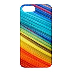 Rainbow Apple Iphone 7 Plus Hardshell Case by NSGLOBALDESIGNS2