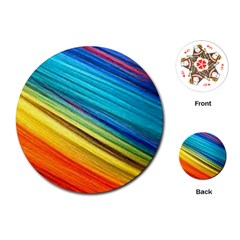 Rainbow Playing Cards (round) by NSGLOBALDESIGNS2