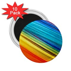 Rainbow 2 25  Magnets (10 Pack)  by NSGLOBALDESIGNS2