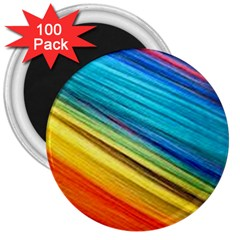 Rainbow 3  Magnets (100 Pack) by NSGLOBALDESIGNS2