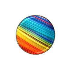 Rainbow Hat Clip Ball Marker (10 Pack) by NSGLOBALDESIGNS2