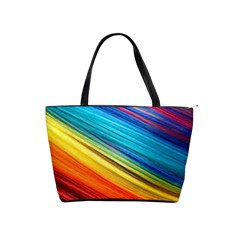 Rainbow Classic Shoulder Handbag by NSGLOBALDESIGNS2