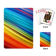 Rainbow Playing Cards Single Design by NSGLOBALDESIGNS2