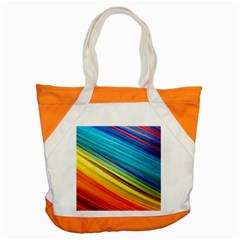 Rainbow Accent Tote Bag by NSGLOBALDESIGNS2