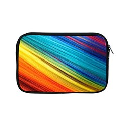 Rainbow Apple Macbook Pro 13  Zipper Case by NSGLOBALDESIGNS2