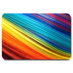 Rainbow Large Doormat  by NSGLOBALDESIGNS2